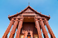 Free Front View Of Terra-cotta Church At Temple Royalty Free Stock Photos - 17230328
