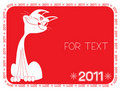 Free Cat .New Year Symbol For Text Royalty Free Stock Image - 17233676