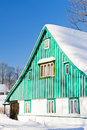 Free Cottage In Winter Stock Photography - 17236312