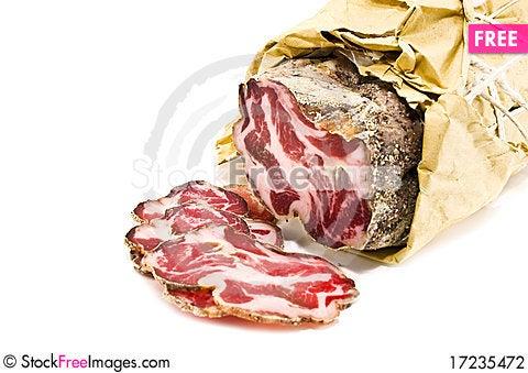 Free Italian Meat Stock Photography - 17235472