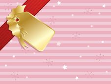 Free Pink Christmas Background Royalty Free Stock Image - 17230256