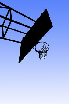 Free Streetball Hoop Stock Photography - 17230412