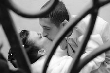 Free Bride And Groom Stock Photo - 17230970