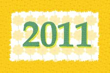 Free New Year 2011 Stock Photography - 17231002