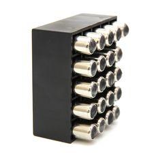 9 Mm Pistol Cartridges Royalty Free Stock Photo