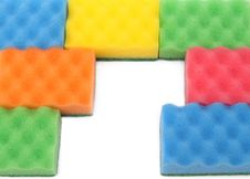 Free Colorful  Sponge Background Royalty Free Stock Photo - 17231605