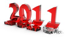 Free 2011 New Year Comes Into Legal Rights Stock Image - 17232071