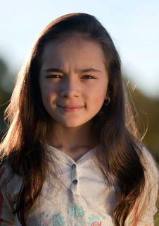 Free Teenager Girl Portrait Stock Photo - 17233240