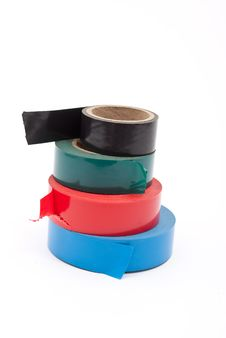 Free Insulating Tapes Royalty Free Stock Image - 17233526