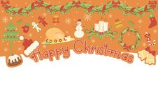 Free Christmas Banner Royalty Free Stock Photography - 17233607