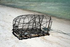 Free Fishing Trap Royalty Free Stock Images - 17234249