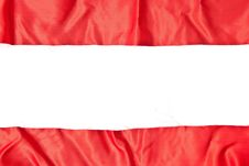 Red Textile Royalty Free Stock Images