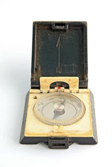 Free Old Compass Stock Photography - 17234632