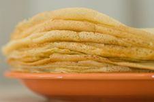 Free Pancakes Royalty Free Stock Image - 17235036