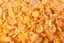 Free Goldish Corn Flakes Stock Photography - 17236272