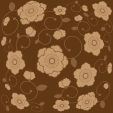 Free Floral Background Vector Royalty Free Stock Image - 17236346