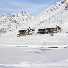Tignes-le-Lac, Alps Royalty Free Stock Photography