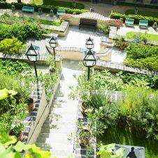 Ledeburska Garden, Prague Stock Photo