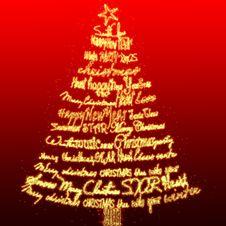 Free Christmas Card Royalty Free Stock Photos - 17237578