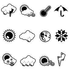 Free Weather Icon Stock Photo - 17237900