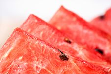 Watermelon Delicious Cut Food Dessert Stock Images