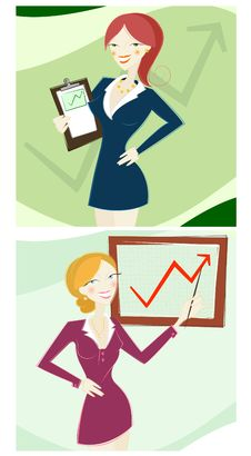 Free Business Woman Royalty Free Stock Images - 17238409