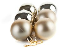 Free Christmas Baubles Stock Image - 17238631
