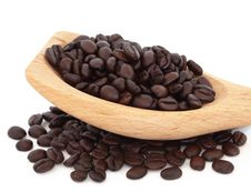 Free Coffee Beans Royalty Free Stock Photography - 17238697