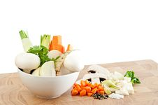 Free Soup Vegetables Royalty Free Stock Image - 17238826