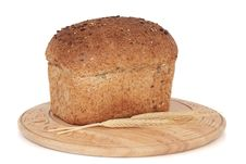 Rustic Bread Loaf Stock Image
