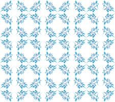 Free Excellent Floral Seamless Blue Ornate Background Royalty Free Stock Photography - 17239527