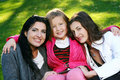 Free Happy Family In The Park Royalty Free Stock Image - 17245006
