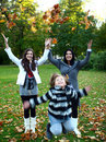 Free Happy Family In The Park Stock Photo - 17245050