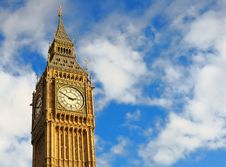 Free The Most Well-known ID Of London - Big Ben. Royalty Free Stock Photo - 17240055