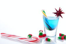 Free Christmas Sweet Drink Royalty Free Stock Images - 17242829