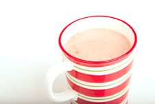 Free Christmas Hot Chocolate Royalty Free Stock Images - 17242839