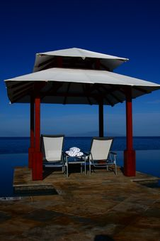 Cabana Stock Photo