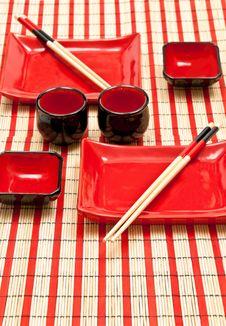Free Asian Dishware Royalty Free Stock Photos - 17244238