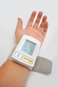 Free Blood Pressure Monitors Stock Photography - 17244692
