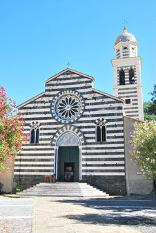 Free Church Of Levanto - Italy Royalty Free Stock Image - 17244826