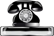 Free Old Phone Stock Image - 17245181