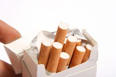 Free Pack Of Cigarettes Royalty Free Stock Images - 17245519