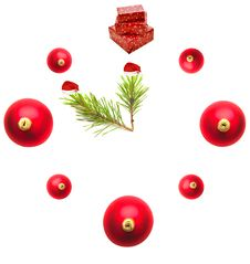 Free Five Minutes Before The New Year Royalty Free Stock Photography - 17246137