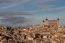 Free Cityscape Of Toledo, Spain. Royalty Free Stock Photo - 17247635