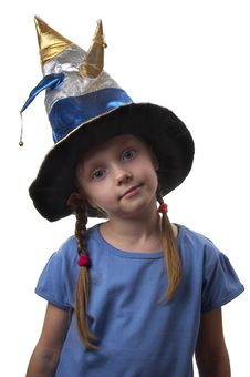 Free Little Witch Royalty Free Stock Image - 17247676