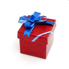 Free Red Gift Box Royalty Free Stock Image - 17247856