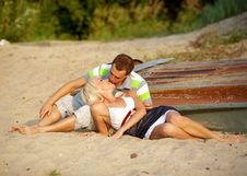 Free Portrait Of Love Couple Royalty Free Stock Photos - 17248008