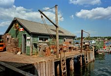 Free Fishing Shack Royalty Free Stock Photo - 17248205