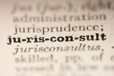 Free Word Jurisconsult Stock Photos - 17248833