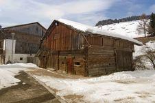 Free Snow On The Dolomites Mountains, Italy Royalty Free Stock Photo - 17248935